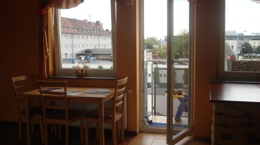 Balkon w mieszkaniu na wynajem - Szczecin